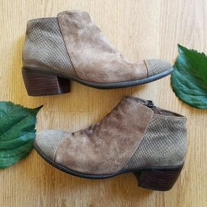 🌿Shoe The Bear Lili Suede Snake Ankle Boots🌿